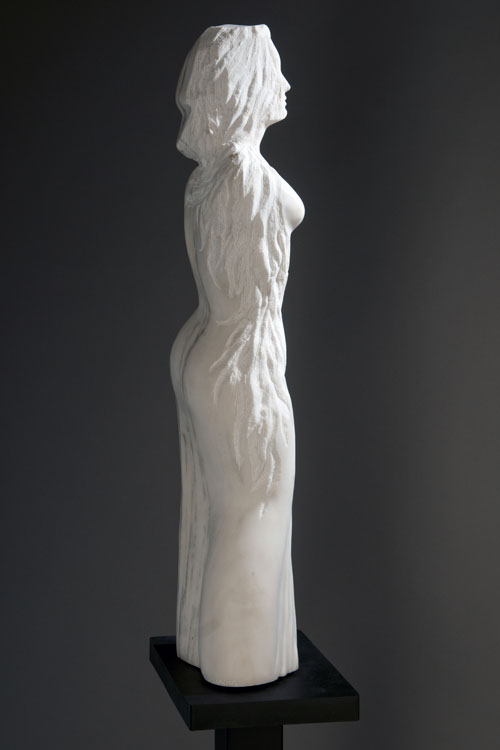 Stone figurative sculpture