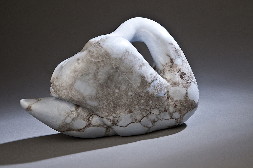 stone bird sculpture